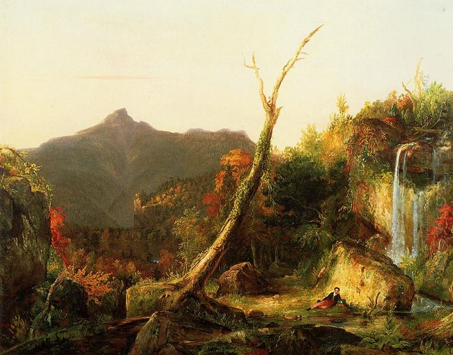 Autumn Landscape Mount Chocorua 1828