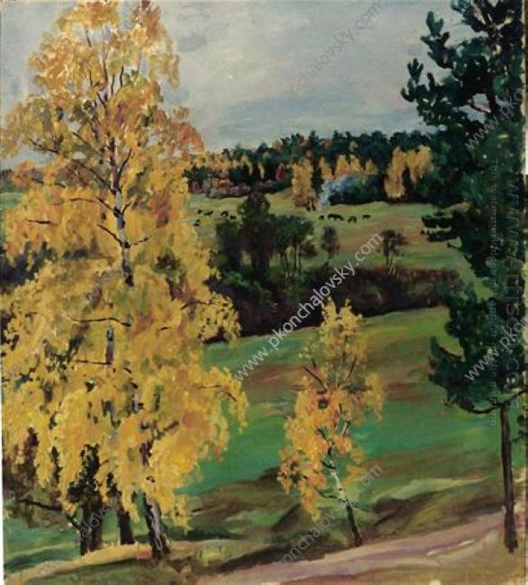 Autumn Yellow Wood 1937