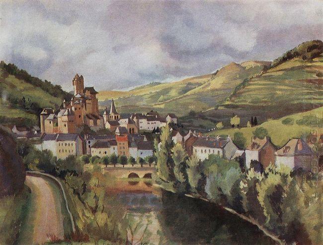 Auvergne Town Esteng 1935
