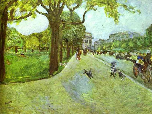 Avenue Du Bois In Boulogne 1914