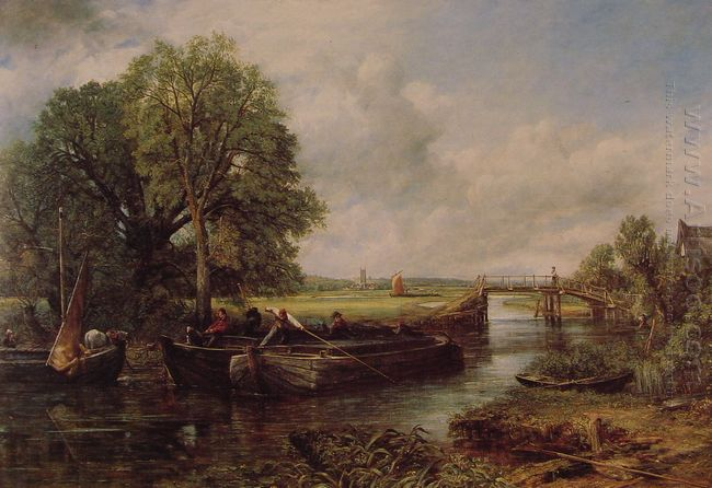 A View On The Stour Near Dedham 1822