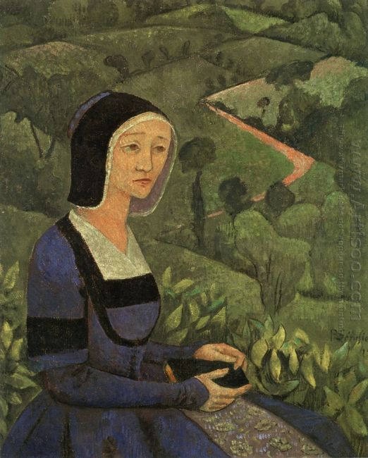 A Widow 1919