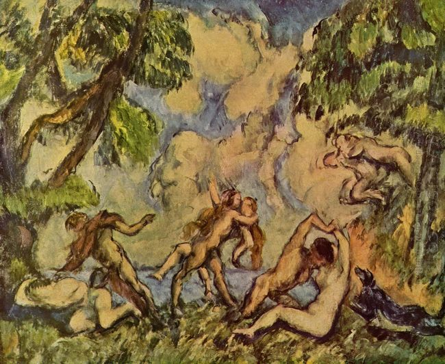 Bacchanalia The Battle Of Love 1880