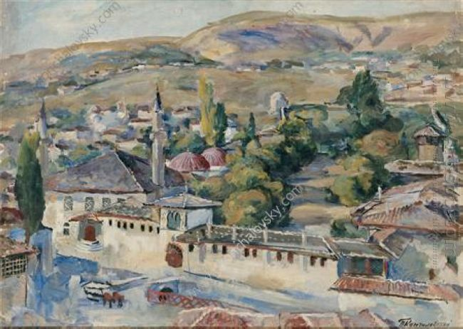 Bakhchisarai Common View 1930