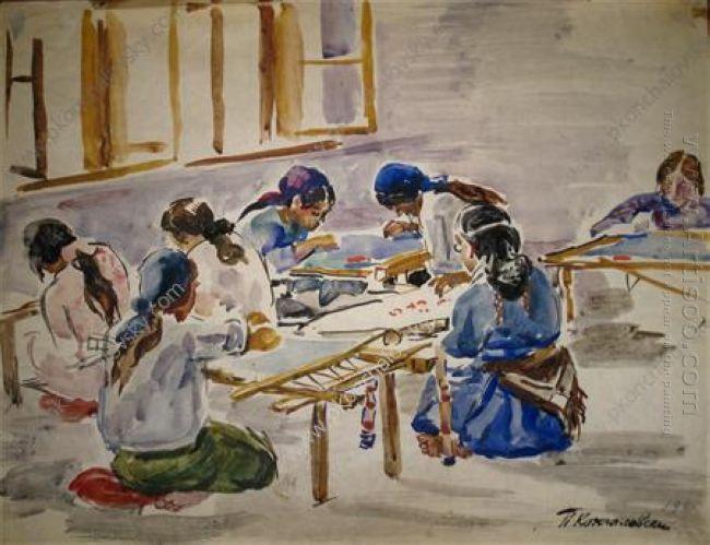 Bakhchisarai Embroidery Carpet Cooperative 1930