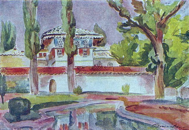Bakhchisarai Khan S Palace 1930