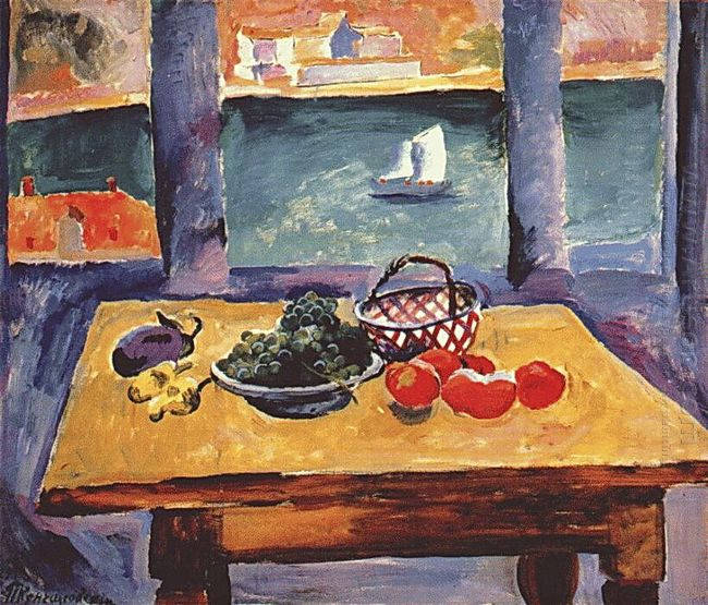 Balaklava The Window The Grapes On The Table 1929