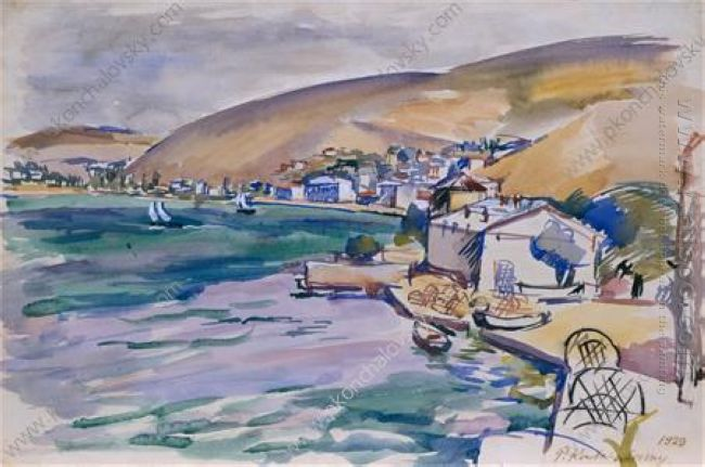 Balaklava View Of The City And The Bay 1929