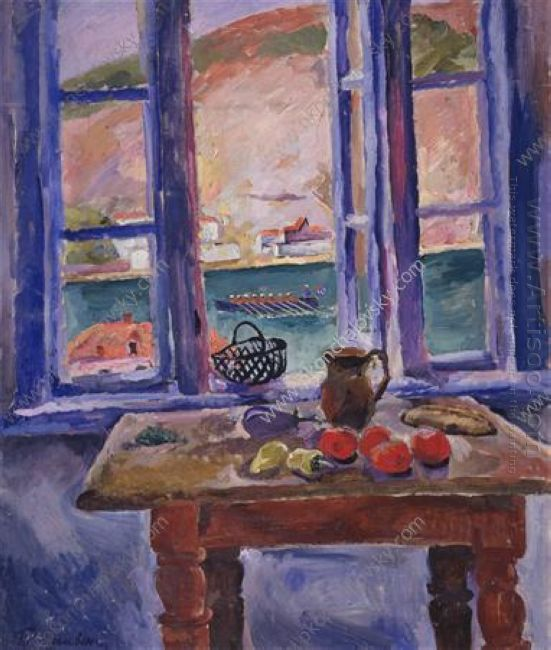 Balaklava Window To The Sea 1929