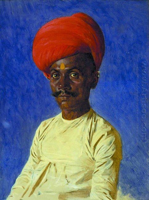Bania Trader Bombay 1876
