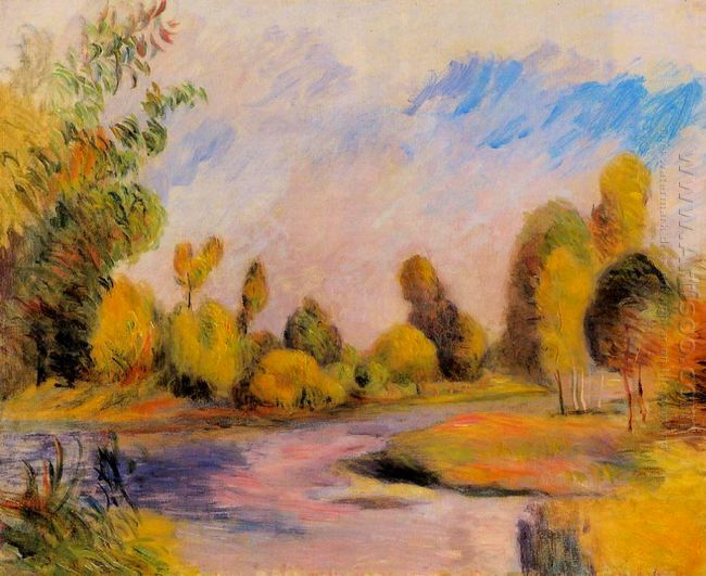 Banks Of A River 1896
