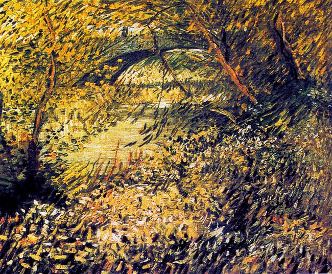 Banks Of The Seine In The Spring 1887