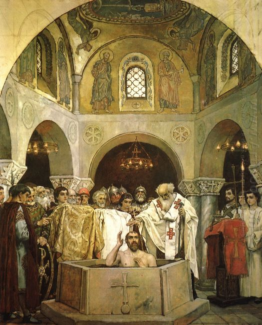Baptism Of Prince Vladimir 1890
