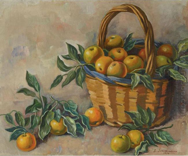 Basket Of Apples 1934