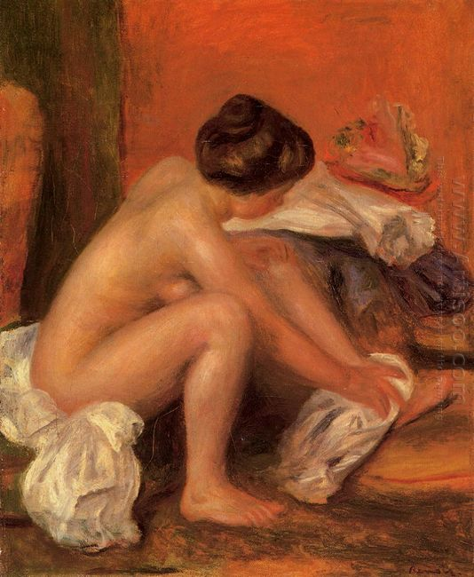 Bather Drying Her Feet 1907