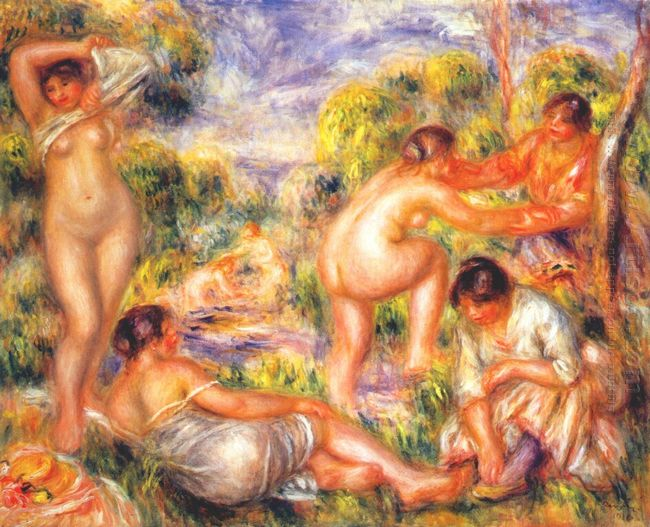 Bathers 1916