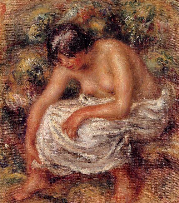 Bathing 1915