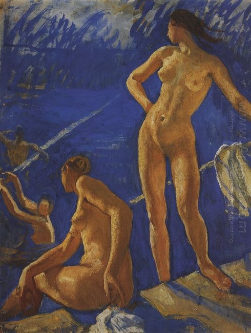 Bathing 1917