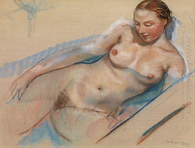 Bathing Nude 1927