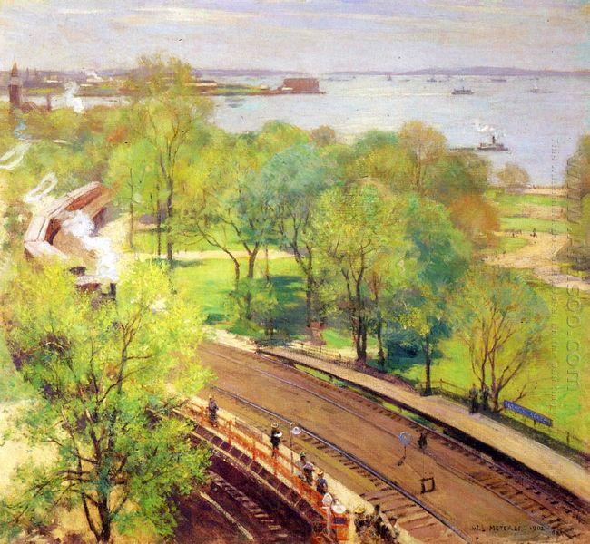 Battery Park Spring