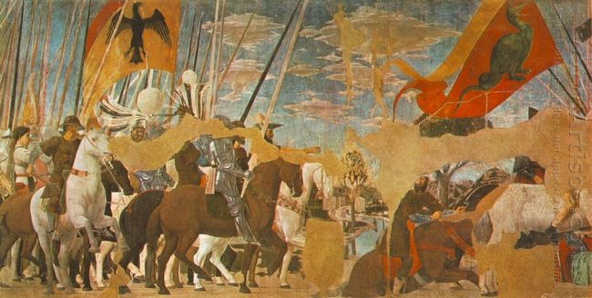 Battle Between Constantine And Maxentius 1464