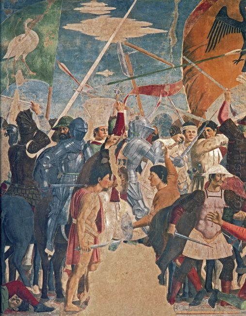 Battle Between Heraclius And Chosroes Detail
