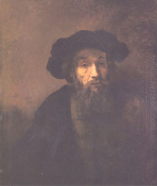 Bearded Man With A Beret 1655