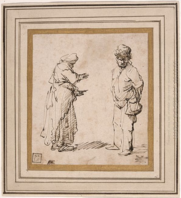 Beggar Man And Woman 1631