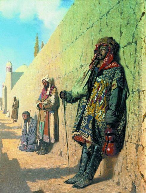Beggars In Samarkand 1870