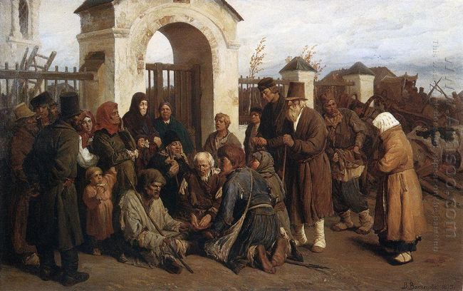 Beggars Singer Pilgrims 1873