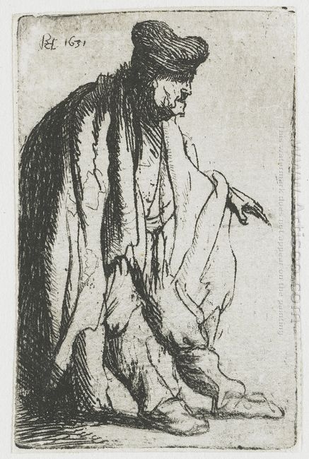 Beggar With His Left Hand Extended 1631