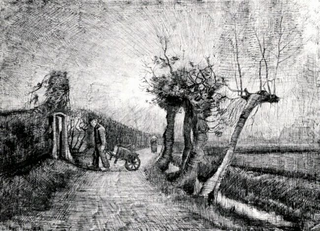 Behind The Hedges 1884