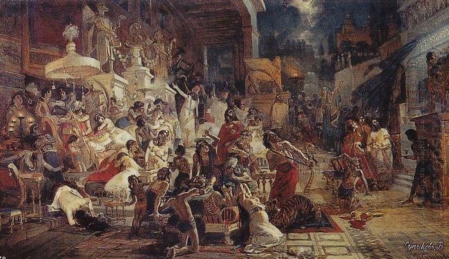 Belshazzar S Feast 1874