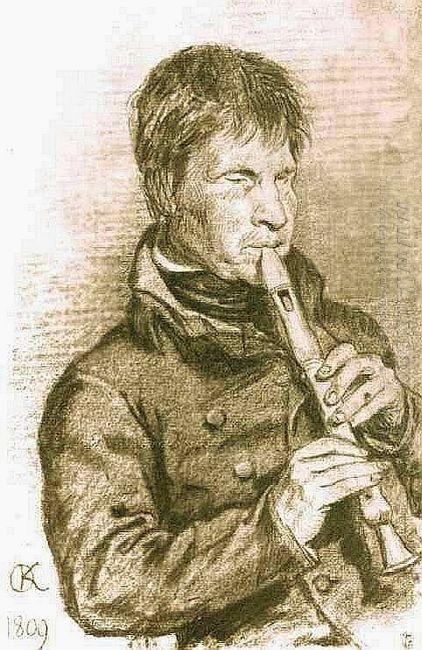 Blind Musician 1809