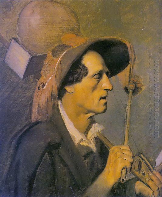Blind Musician 1864