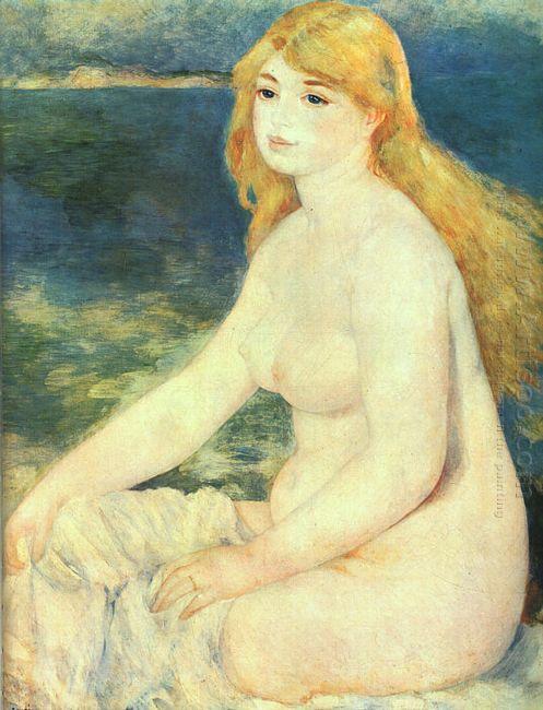 Blond Bather 1881