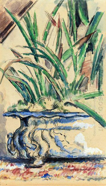Blue Flowerpot 1885