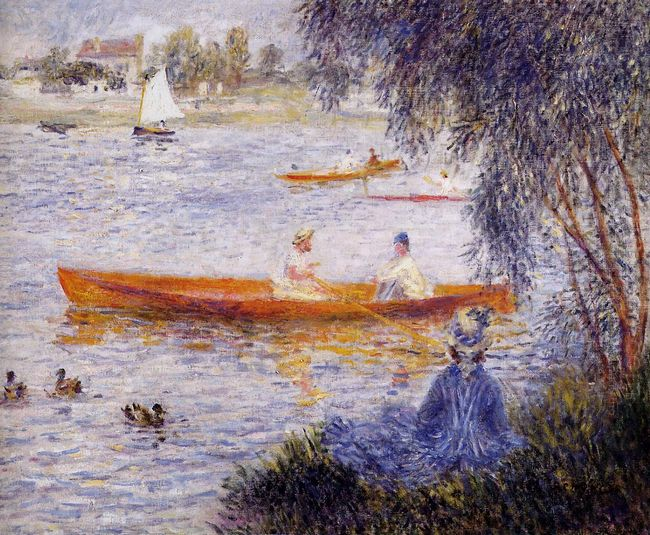 Boating At Argenteuil 1873
