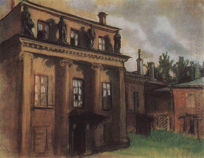 Bobrinsky Palace In Petrograd 1923