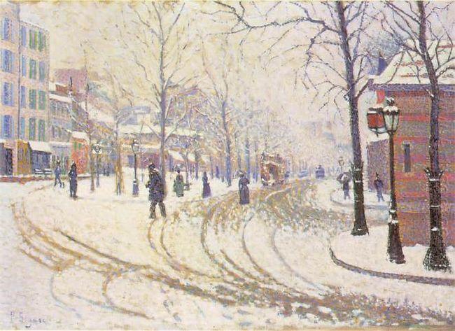 Boulevard De Clichy 1886