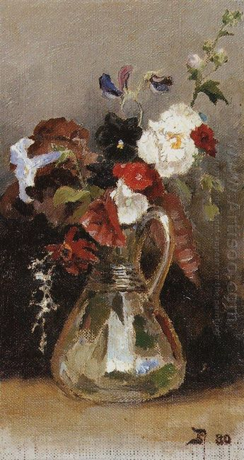 Bouquet Of Flowers 1880 1
