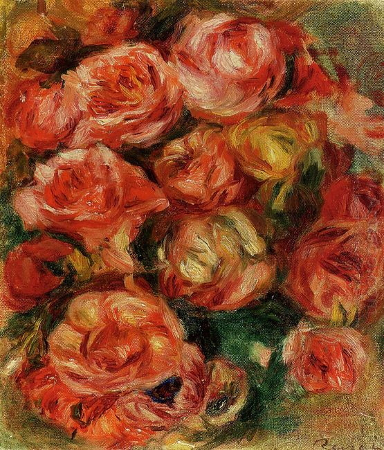 Bouquet Of Flowers 1915