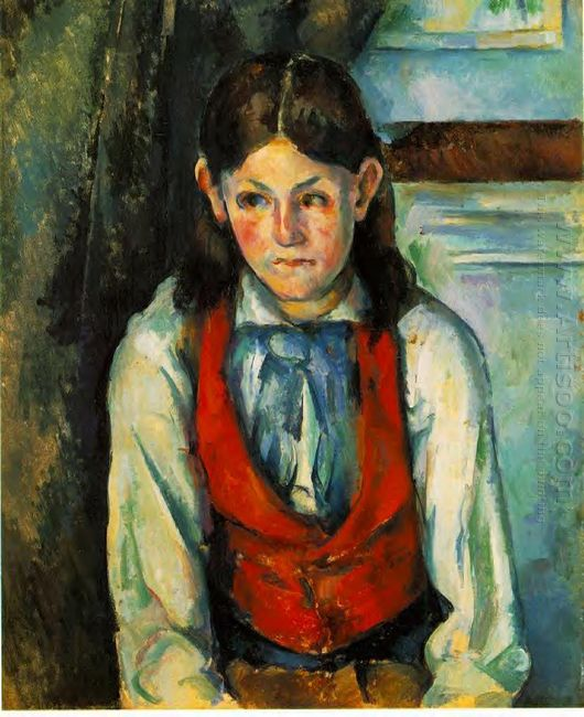 Boy In A Red Vest 1890 2