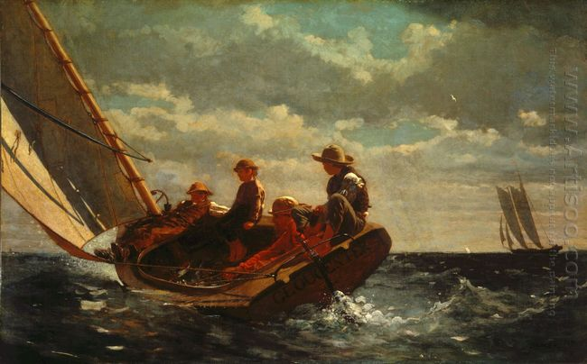 Breezing Up A Fair Wind 1876