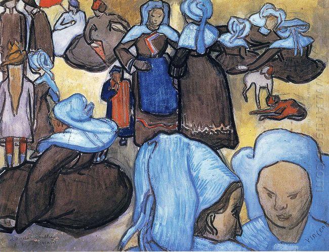 Breton Women 1888