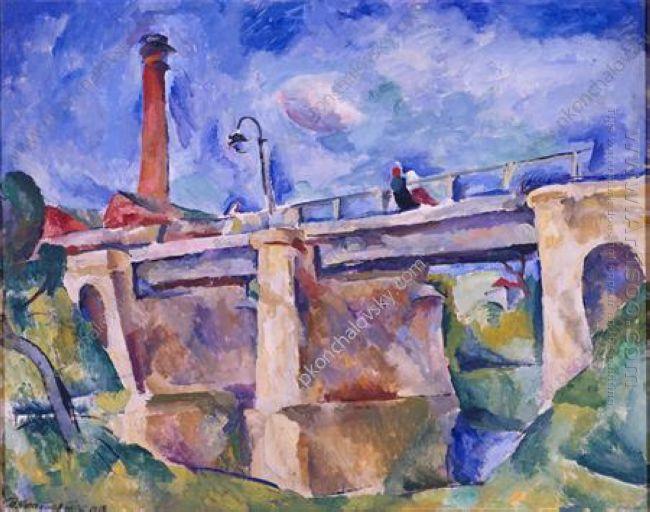 Bridge In Nara The Wind 1918