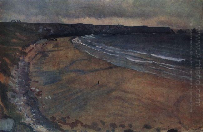 Brittany Beach At Mosquito 1926
