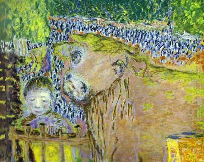 Bull And Child 1945