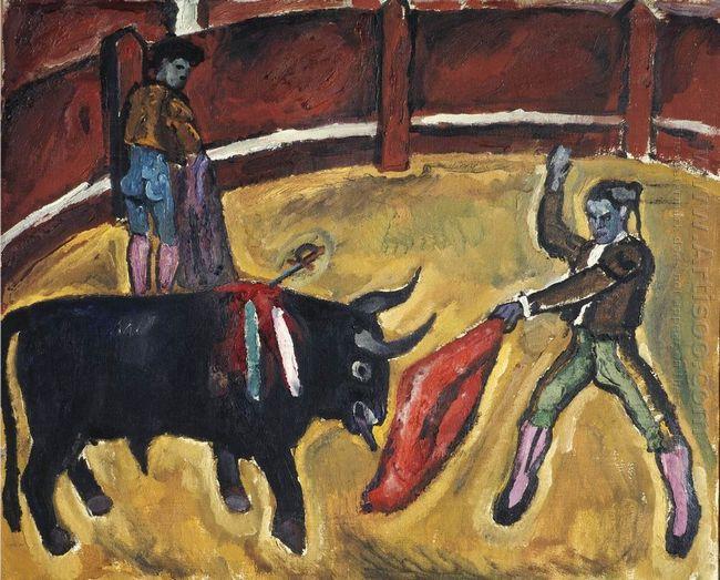 Bullfight Study 1910 1