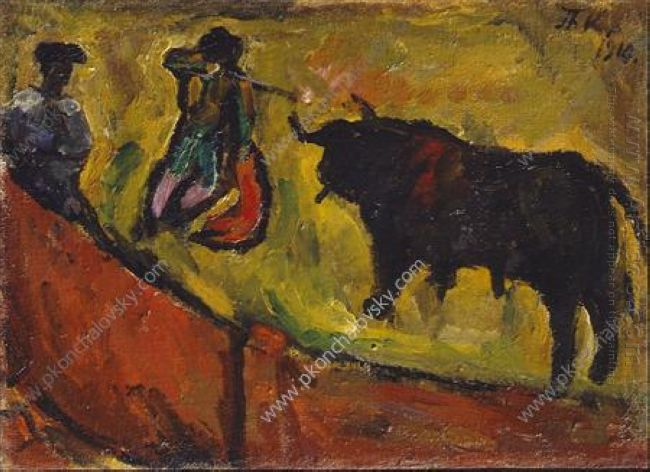 Bullfight Study 1910